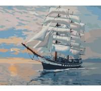 "RADUGA Картина по номерам ""Попутного ветра"" 40х50 см (G423)"