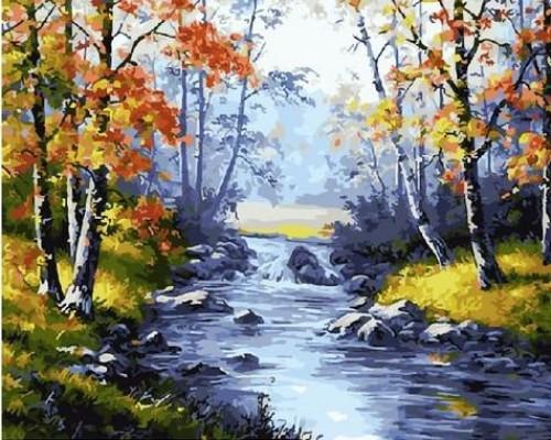 "Картина по номерам ""Осенние берега"" 40х50 см (GX21076)"
