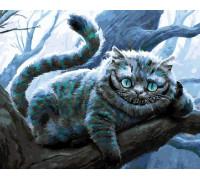 "RADUGA Картина по номерам ""Чеширский кот на ветке"" 40х50 см (GX21141)"