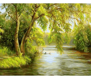 GX21176 Ива над рекой
