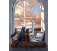 "RADUGA Картина по номерам ""Уютный вечер""  40х50 см (GX22048)"