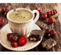 "RADUGA Картина по номерам ""Ягоды и шоколад"" 40х50 см (GX22133)"