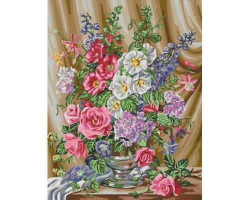 """Paintboy Картина по номерам """"Весенний букет""""  40х50 см (GX22484)"""