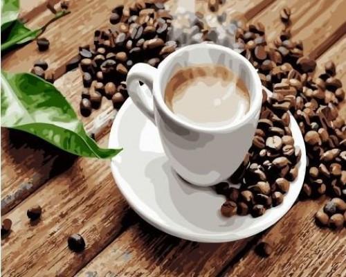 "RADUGA Картина по номерам ""Ароматный кофе"" 40х50 см (GX22835)"