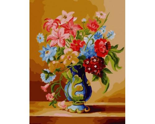 "Paintboy Картина по номерам ""Цветочный натюрморт"" 40х50 см (GX23008)"