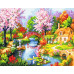 "Paintboy Картина по номерам ""Сказочный вид"" 40х50 см (GX23678)"