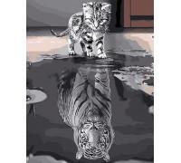"Картина по номерам ""Душа тигра"" 40х50 см (GX25713)"