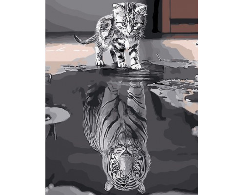 "RADUGA Картина по номерам ""Душа тигра"" 40х50 см (GX25713)"