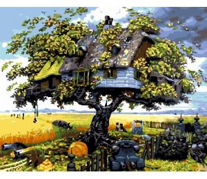 """Paintboy Картина по номерам """"Дом на дереве""""  40х50 см (GX3599)"""