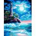 Картина по номерам «Ночной маяк»