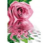 Картина по номерам «Розовое отражение»
