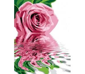 """Paintboy Картина по номерам """"Розовое отражение"""" 40х50 см (GX6320)"""