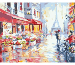 "Paintboy Картина по номерам ""Вдвоем по Парижу"" 40х50 см (GX7959)"