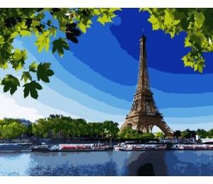 """Paintboy Картина по номерам """"Летний Париж""""  40х50 см (GX7971)"""