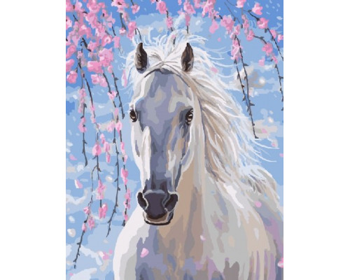 GX8528 Белая лошадь