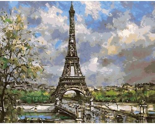 "Paintboy Картина по номерам ""Символ Парижа""  40х50 см (GX8597)"