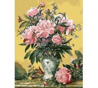 """RADUGA Картина по номерам """"Букет розовых пионов"""" 40х50 см (GX9434)"""