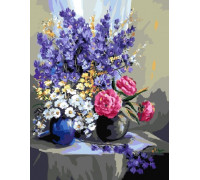 "RADUGA Картина по номерам ""Цветочный натюрморт"" 40х50 см (GX9561)"