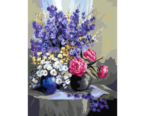 "Картина по номерам ""Цветочный натюрморт"" 40х50 см (GX9561)"