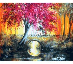 "Paintboy Картина по номерам ""Лиловое дерево"" 40х50 см (GX9567)"