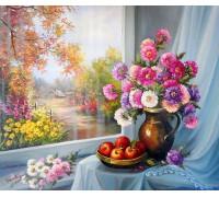 """RADUGA Картина по номерам """"Утро в деревне"""" 40х50 см (RDG-0440)"""