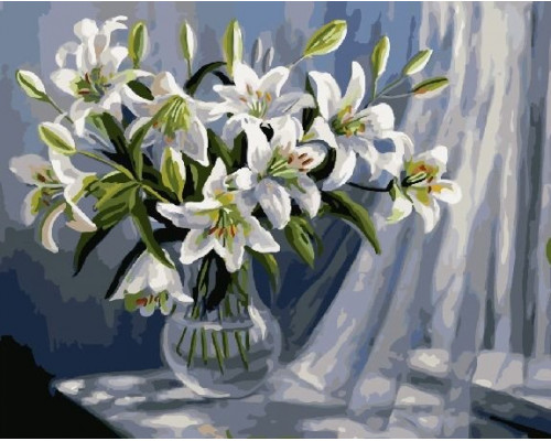 Картина по номерам 40х50 см RDG-0694 Букет лилий