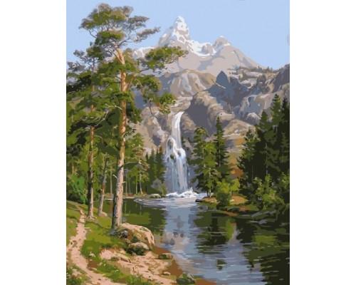 RDG-0785 Горный водопад