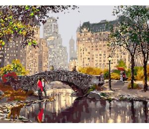 Картина по номерам «Городская романтика»