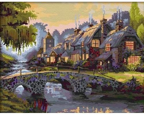 RDG-1334 Дом с каменным мостиком