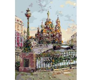 """RADUGA Картина по номерам """"Театральный мост (Санкт-Петербург)"""" 40х50 см (RDG-1688)"""