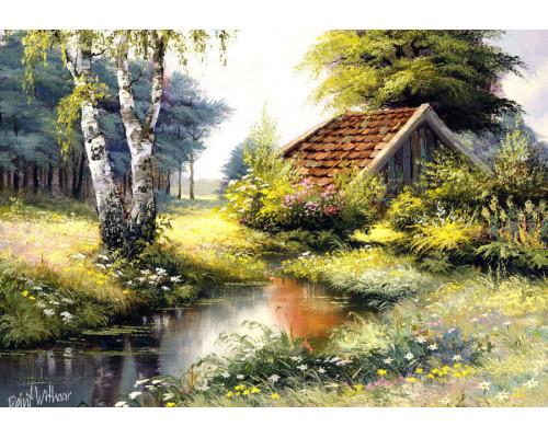 RDG-1729 Маленький домик в лесу