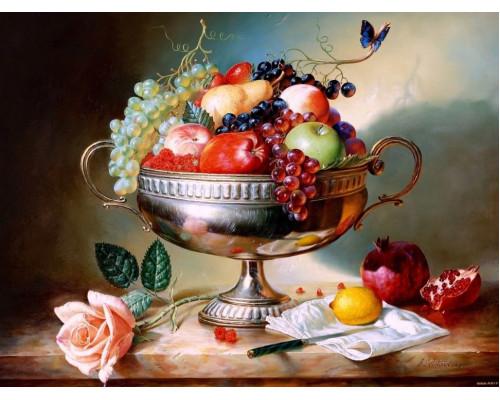 "RADUGA Картина по номерам ""Ваза с фруктами"" 40х50 см (RDG-2409)"