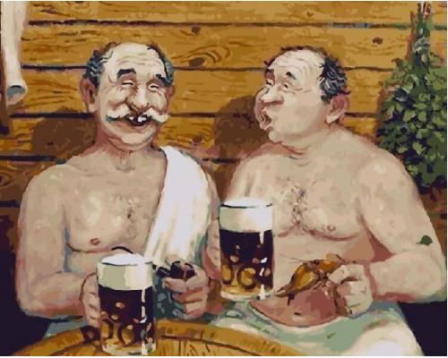 RDG-2572 В баньке с пивком..