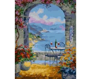 "RADUGA Картина по номерам ""Вид на море"" 40х50 см (RDG-2968)"