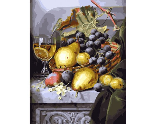 RDG-3027 Натюрморт с виноградом