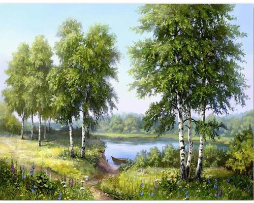 RDG-3041 Березки у реки