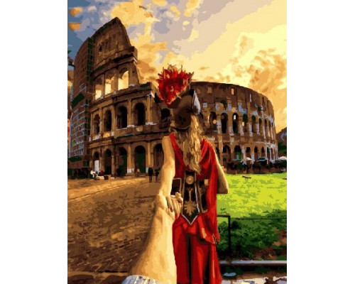 "RADUGA Картина по номерам ""Идём в Колизей"" 40х50 см (RDG-3292)"