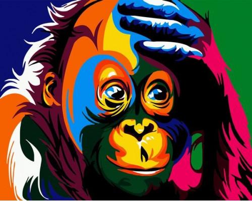 Радужный орангутанг