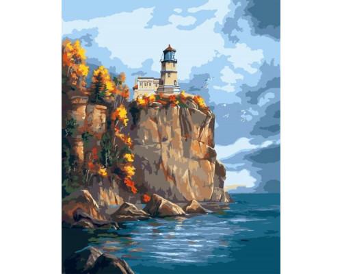 """Colibri Картина по номерам """"На скале у моря"""" 40х50 см (VA-0217)"""