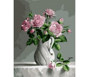 Картина по номерам Букет роз 40х50 см (VA-0301)