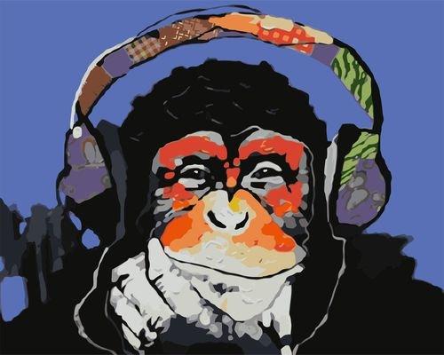 Шимпанзе-меломан