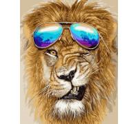 Лев с очками