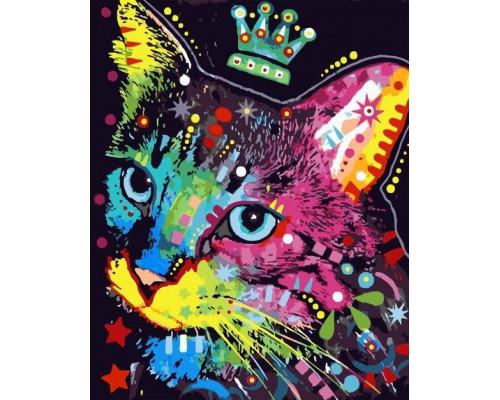 Кот с короной