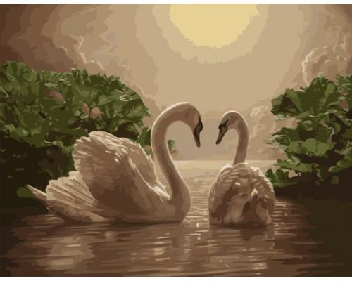 VA-1598 Пара лебедей