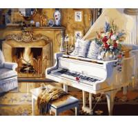 Рояль у камина